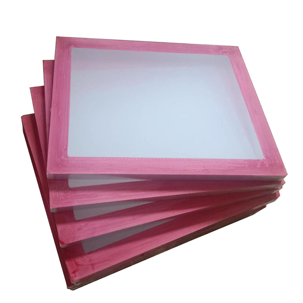 "US Stock, 6 Pcs - 20"" x 24"" Aluminum Frame with 180 White Mesh Silk Screen Printing Screens ( Tubing:1.18""x 1.18"")"