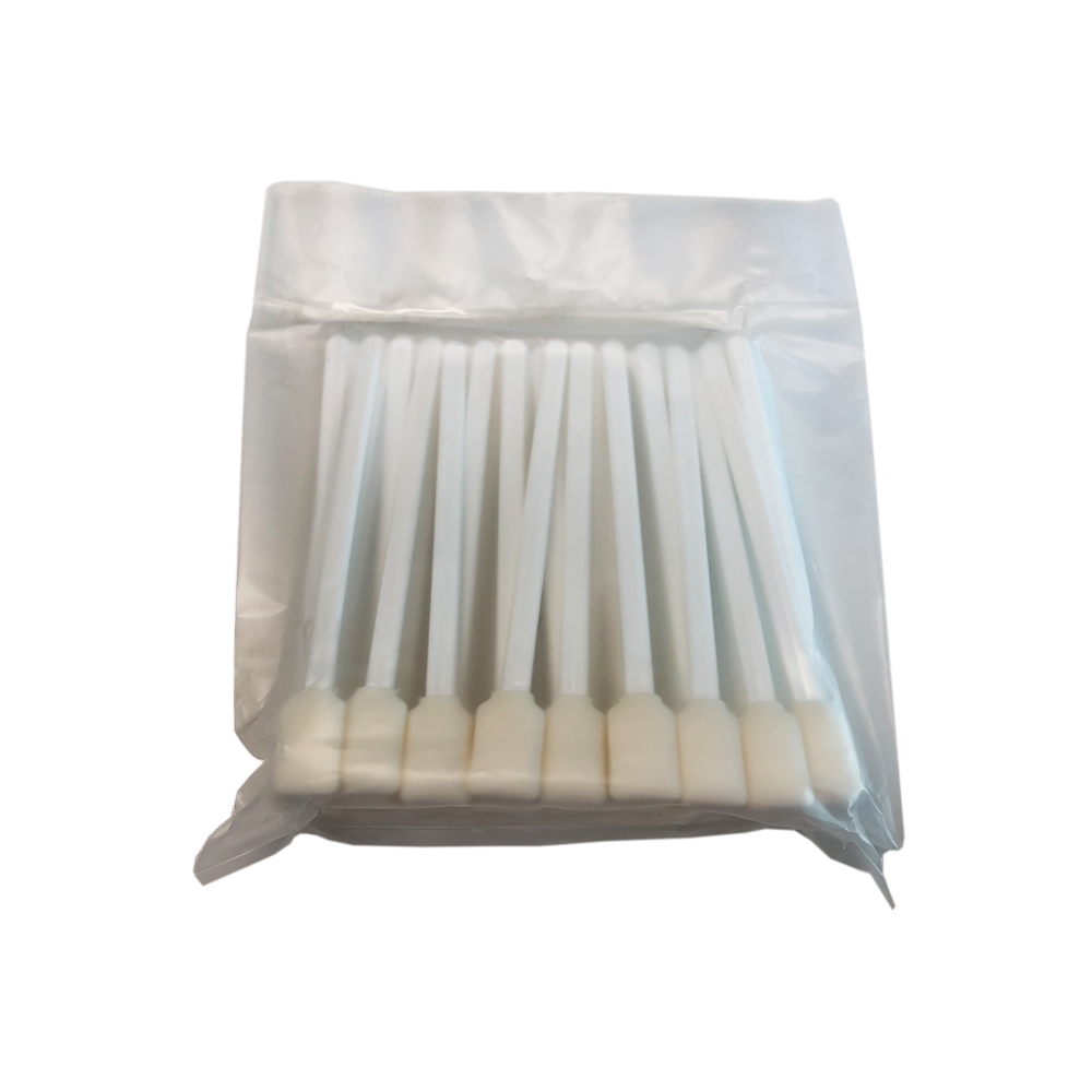 """50pcs Foam Cleaning Swabs for Epson / Roland / Mimaki / Mutoh Inkjet Printers 5"""" Long"""