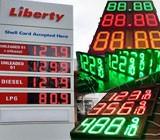 LED Gas Station Sign