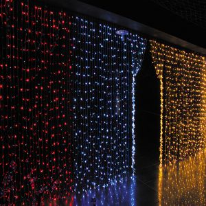 (2*6.5M)LED Waterfall Light (warm white)