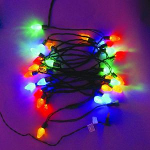(6M)5 Wire LED Twinkle Light(blue)