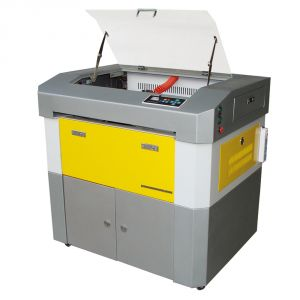 "24"" x 16"" 6040 Laser Engraving and Cutting Machine, with Electric Lifting Table and 60W Laser"