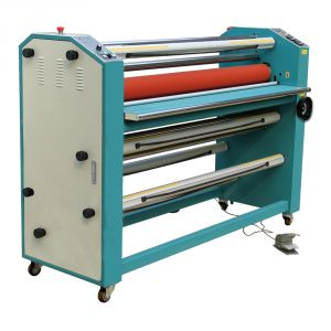 "51"" Cabinet Frame Full-auto Electric Mutil-function Double Sides Wide Format Hot Laminator"