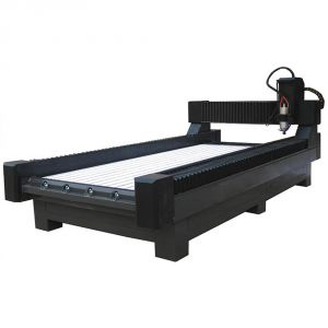 "51"" x 118"" (1300mm x 3000mm) Heavy-Duty Stone/Glass Carving CNC Router"