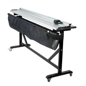 60Inch Aluminum Alloy Large Format Paper Trimmer Cutter with Support Stand