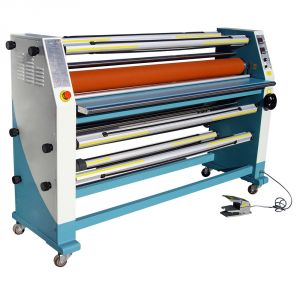 "63"" Cabinet Frame Full-auto Electric Double Sides Wide Format Hot Laminator"