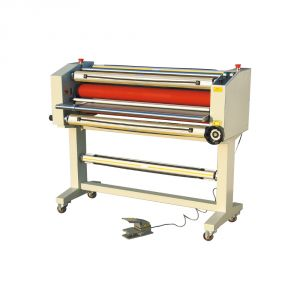"65"" Stand Frame Semi-auto Self-peeling Wide Format Cold Laminator"