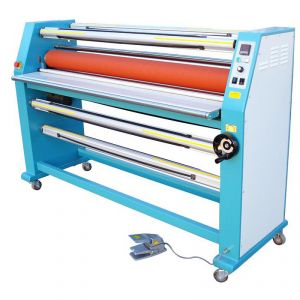 "67"" Cabinet Frame Full-auto Electric Single Side Wide Format Hot Laminator"