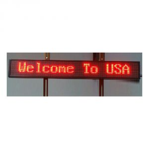 "40"" x 6"" Indoor 2 Lines LED Scrolling Sign(Tricolor or Single Color)"