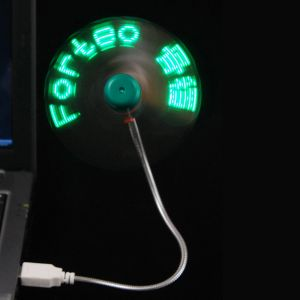 USB LED Message Fan--138-9