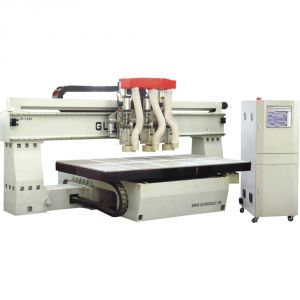 "51"" x 98"" (1300mm x 2500mm) 3 Heads Woodworking CNC Router"