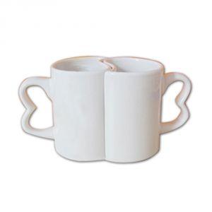 11OZ Ceramic Sublimation Lovers Mug