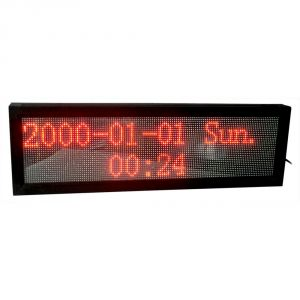 "69"" x 11"" Indoor 4 Lines LED Scrolling Sign(Tricolor or Single Color)"