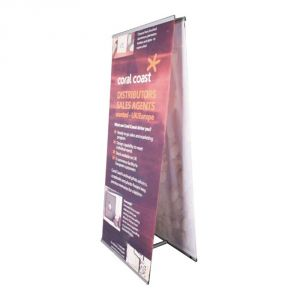 Double Sided L Banner Stand