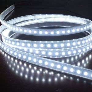White Color Flexible LED Light Strip(120 SMD 3528 leds per meter waterproof IP66) 5m/roll