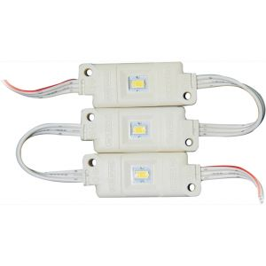 SMD 5630 High Power Waterproof LED Module (1 LED, White Light, 0.4W, L48 x W18.5mm)
