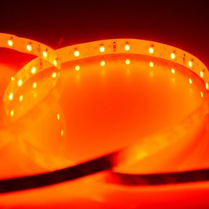 Red Color Flexible LED Light Strip(120 SMD 3528 leds per meter nonwaterproof) 5m/roll