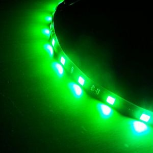 Green Color LED Light Strip(30 SMD 5050 leds per meter nonwaterproof) 5m/roll