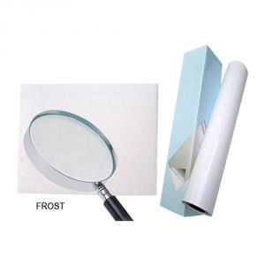 "25"" (0.635m) Matte Frosted Cold Laminating Film"