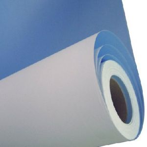 "60"" (1.52m) ECO Ordinary Paper Blue  Back Poster Paper"