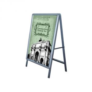 New Single Sided Freestanding 60x90cm A Frame Whiteboard Poster Stand Street Sign Display Board (Frame Only)