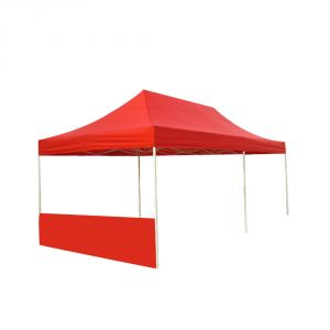 20ft Canopy Half Wall(Solid Color)
