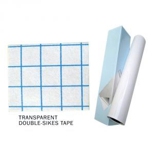 "50"" (1.27m)  Transparent Double sides tape"
