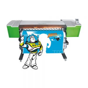 "50""Eco-Solvent Printer&Cutter Digital Wide Format inkjet Machine"
