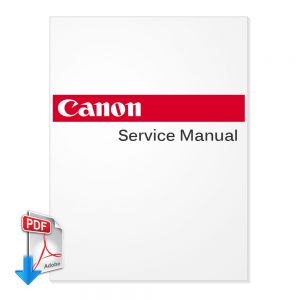 CANON DR-M140 Scanner English Service Manual, Parts List