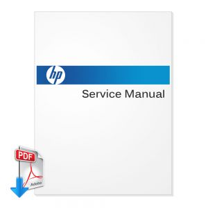 HP DesignJet L25500 Plotter English Service Manual