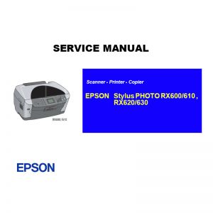 EPSON RX600 610 620 630 Printer English Service Manual (Direct Download)