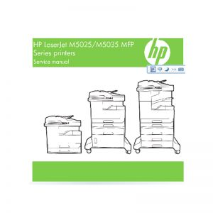 HP LaserJet M5025 M5035 MFP English Service Manual