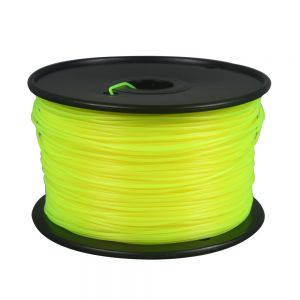 Yellow PLA Filament for Desktop 3D Printer