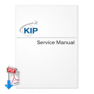 KIP Color 80 (KC80) Wide Format Color Printer Service Manual