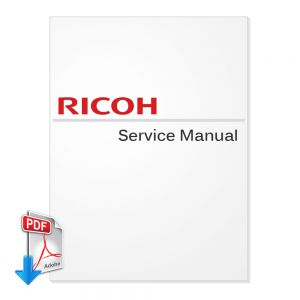 Ricoh Aficio 615C Service Manual (Version 1)