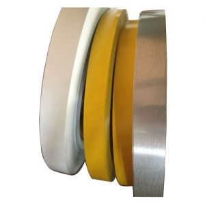 "40mm (1.6"") x 200m (656ft) White Aluminum Tape (Flat Coil Without Folded Edge) for Channel Letter Sign Fabrication Making"