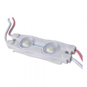 (Limited Offer)SMD 2835 Waterproof LED Module (2 LED Chips with Optical Lens, White Light, 0.72W, L54 x W16 x H7mm)