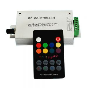 RF 18 key Music Remote Controller for 3528 5050 RGB LED Strip Light