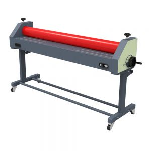"Ving 63"" Economical Manual Wide Format Cold Laminating Machine"