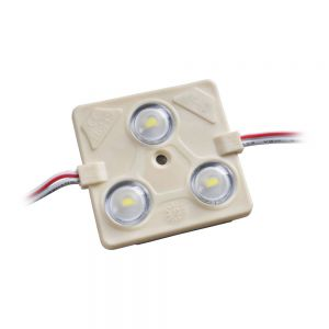 Sample-SMD 5730 High Power Waterproof LED Module (3 LEDs,White Light,1.44W,L44 x W43mm)
