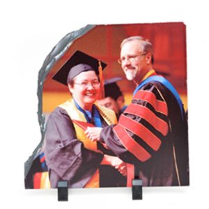 Big Left Shed-Shaped Sublimation Photo Slate  (30 x 30CM)