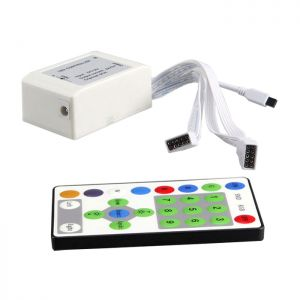 IR 25 Key Led Strip Running Light Remote Controller