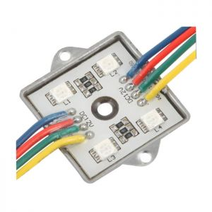 SMD5050 12VDC 1.2W 36*36*6mm Waterproof Colorful LED Module