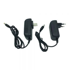 18W Glue Cover Universal Plug in Power Supply Adapter (AC100V-240V to DC 12V 1.5A,for LED Module/LED Strip/LED Bar)