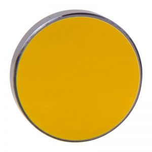 Silicon Reflection Mirrors for Engraving and Cutting with Gold-plating, Dia.20mm x 3mm