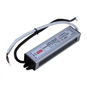 12W AC100V-240V to DC 24V 0.5A Waterproof Metal Shell LED Power Supply Transformer Driver(for LED Module/LED Strip/LED Bar)