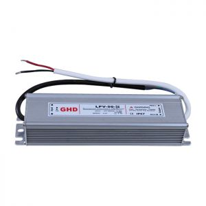 50W AC100V-240V to DC 24V 2.1A Waterproof Metal Shell LED Power Supply Transformer Driver(for LED Module/LED Strip/LED Bar)