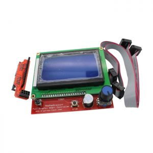3D Printer Smart Controller RAMPS 1.4 LCD 12864 Control Panel Blue Screen