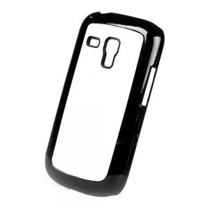 3D Sublimation Samsung S3 Mini Blank Cell Phone Case Cover with Metal Sheet for Heat Transfer Printing