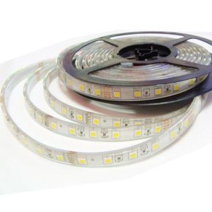 5M Waterproof IP68 150 LED Strip Light 5050 SMD String Ribbon Tape Roll 12VDC